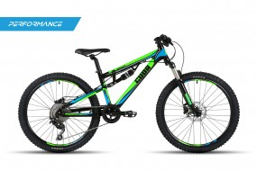 Impact Dual Suspension Trail bike